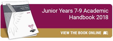 Junior Years 7-9 Academic Handbook 2018