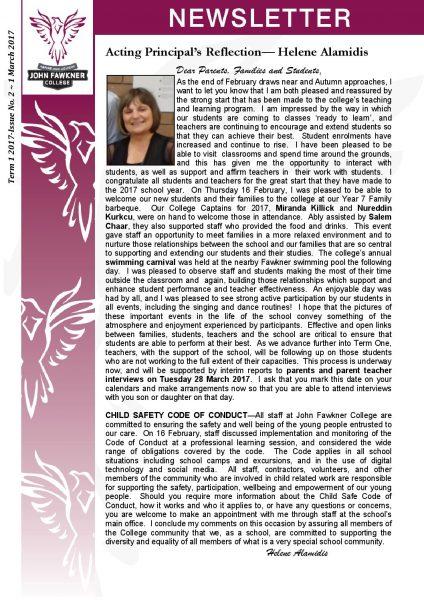 Newsletter - Issue 2