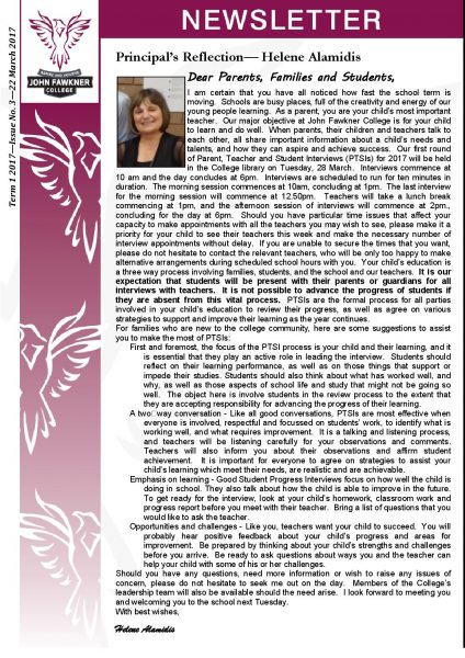 Newsletter - Issue 3