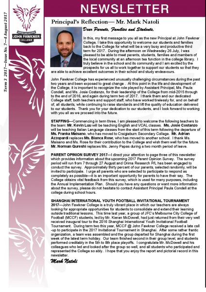 Newsletter - Issue 7